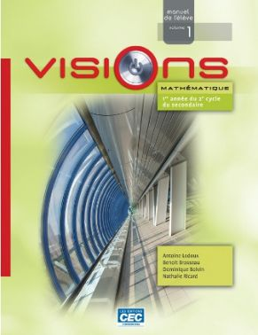 VISIONS - 3e SECONDAIRE